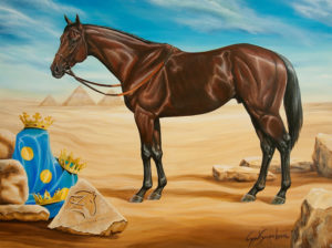 Painting of American Pharoah