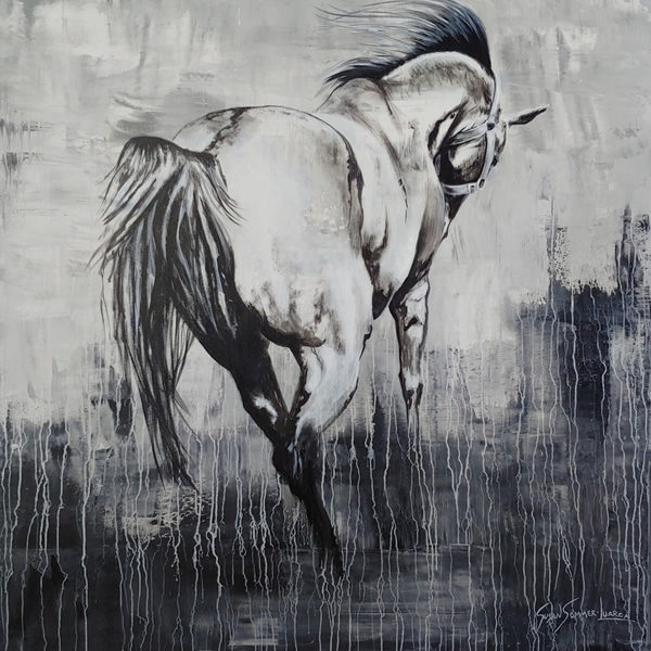 Painting of a horse