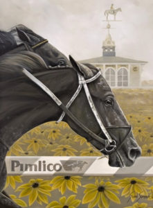 painting of a horse named Pimlico