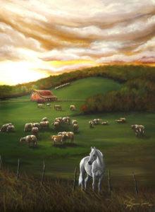 White Horse Waiting