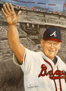 painting of BOBBY COX