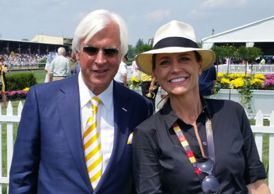 Bob Baffert and Susan at The Preakness