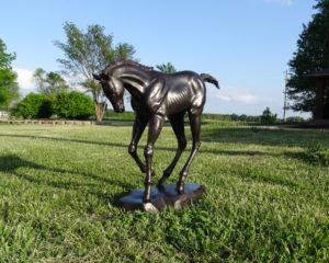 """Bronze Foal """"The Race is On"""""""