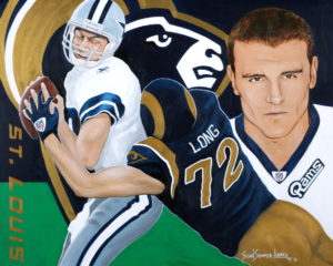 Painting of Chris Long