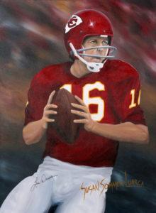 Painting of Len Dawson