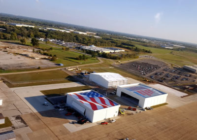 Taken from the helicopter ride at the unveiling of GIANT USA MURAL