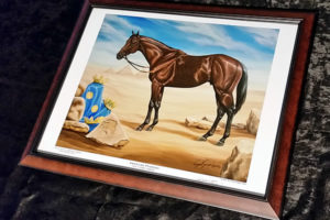 The Official Limited Edition Print of American Pharoah - Framed